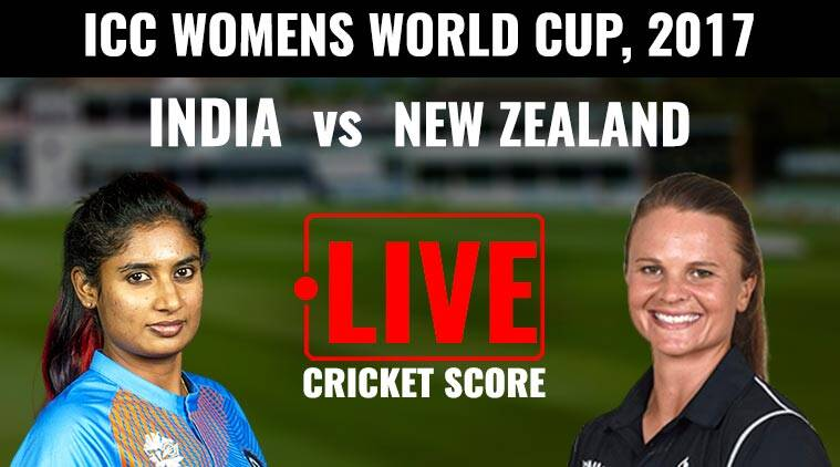 India vs New Zealand Live Streaming & Scores, Women's World Cup 2017