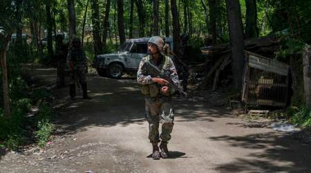 Bandipora encounter: Militants, security forces exchange fire; search operation on