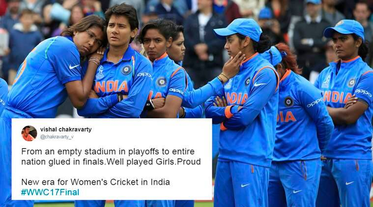 Icc Womens World Cup Final England Won The Cup But You Won Hearts