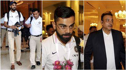 Virat Kohli-led Indian cricket team lands in Sri Lanka for three Tests, five ODIs and one T20I