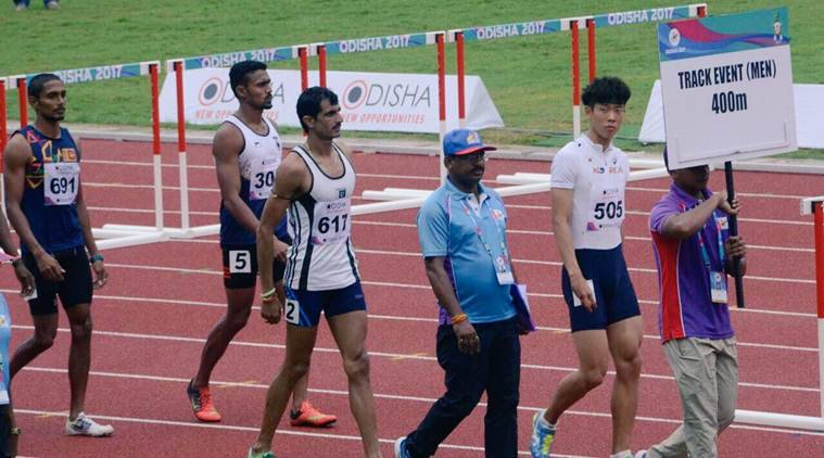 asian athletics championship, indian relay team, india 4*100 relay team, John Anoorup, V K Elakkiya Dasan, J Debnath, Amiya Kum, sports news, indian express