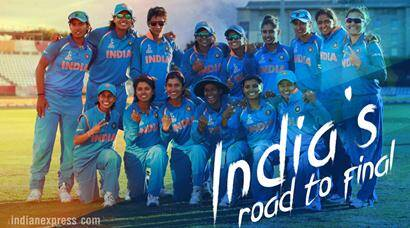India's road to ICC Women's World Cup final