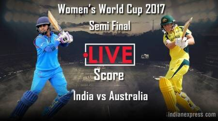 India vs Australia Live Score, ICC Women's World Cup 2017, Semi-final: India pick regular wickets to push back Australia