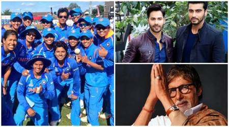 India vs Pakistan ICC Women's World Cup 2017: Arjun Kapoor, Amitabh Bachchan, Varun Dhawan and others celebrate India's win
