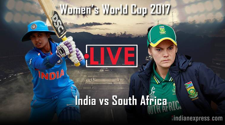 India vs South Africa, ICC Women's World 2017, Indian Express
