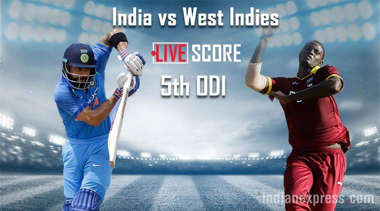 India vs West Indies, 5th ODI, Ind vs WI, Indian Express