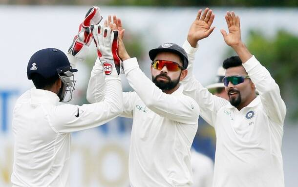 India vs Sri Lanka, Virat Kohli, Abhinav Mukund, Angelo Mathews, sports gallery, cricket, Indian Express