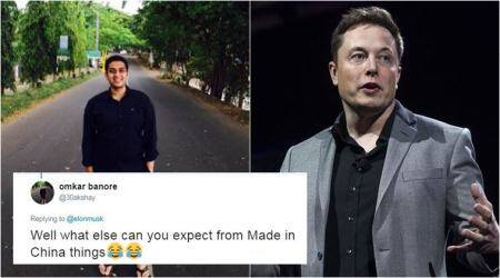 Indian guy mocks China's rocket launch failure; Elon Musk gave him an epic reply