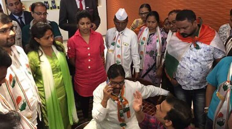 Indu Sarkar, indu sarkar press conference, congress protest, madhur bhandarkar