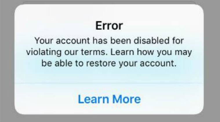 Instagram 'Bug' Causes Accounts to Be Deleted or Disabled
