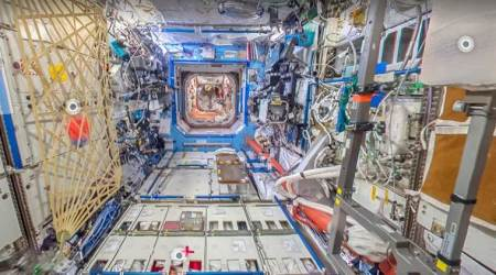 Google Street View now lets you explore International Space Station