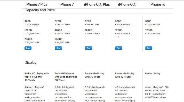 Apple IPhone Price Cut Discount 7