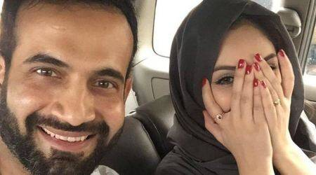 irfan pathan, pathan, safa baig, irfan pathan wife, irfan pathan unislamic image, cricket, sports news, indian express