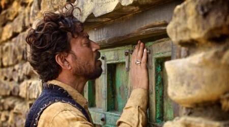 Irrfan Khan to play a Rajasthani camel trader in The Song of Scorpions. See his first look