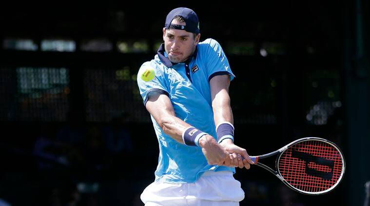 john isner, isner, Hall of Fame Open, Matthew Ebden, tennis, sports news, indian express