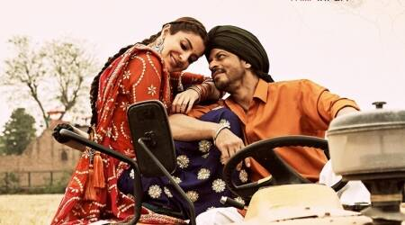 Shah Rukh Khan aka Harry can't get enough of Anushka Sharma aka Sejal, and their love is in the 'Hawayein'. See photo