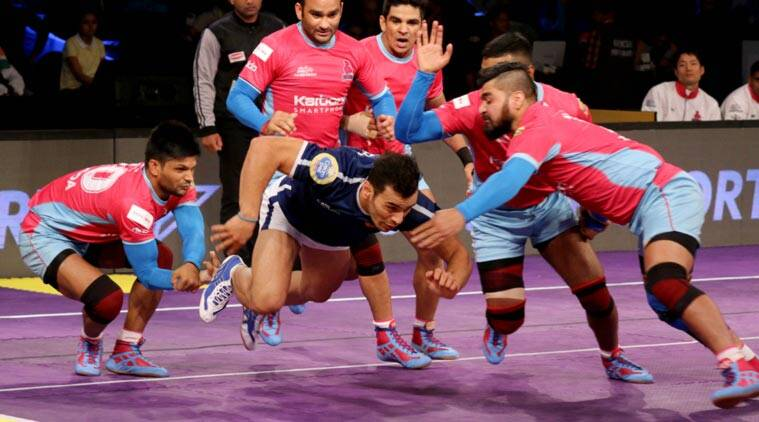 Pro Kabaddi League 2017, Day 2