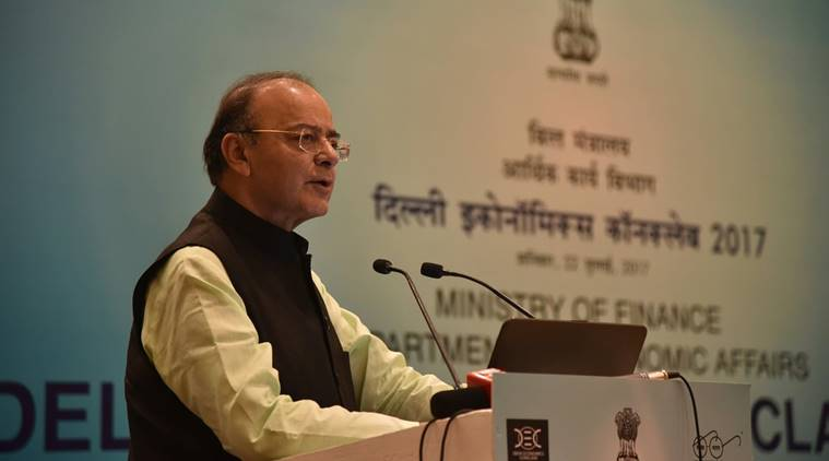 Arun Jaitley, demonetisation, GST, Delhi Economics conclave, india news