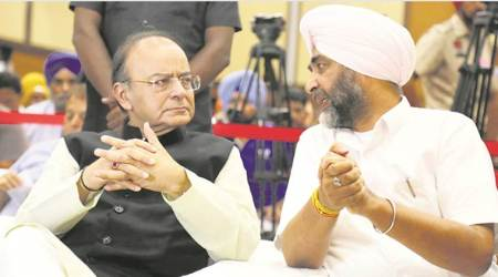 Manpreet Badal tells Arun Jaitley: Let's join hands to develop Punjab
