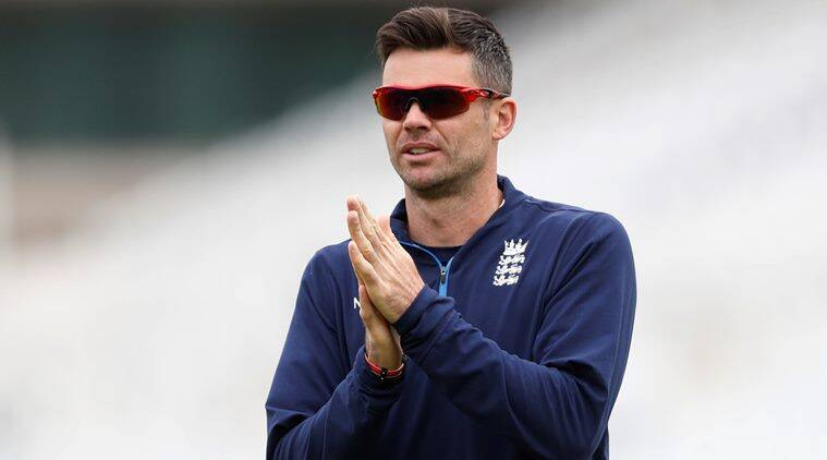 James Anderson, England, Indian Express