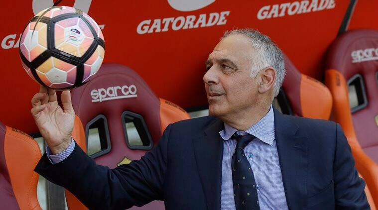 Roma, James Pallotta, AC Milan, UEFA, Sevilla, Aleksandar Kolarov, Monchi, football news, sports news, indian express