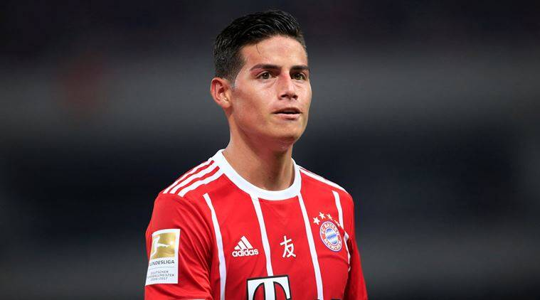 Carlo Ancelotti expects James Rodriguez to shine at Bayern ...