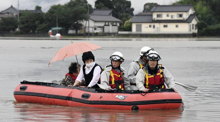 Japan floods, Fukuoka floods, 15 missing in Japan floods, Japan flood rescue