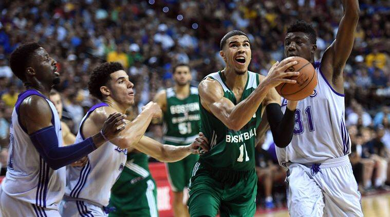 Jayson Tatum, NBA, Indian Express