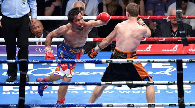 Jeff Horn, Manny Pacquiao, Indian Express