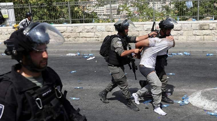 Jerusalem, Jerusalem protests, Noble Sanctuary, Abu Ghannam