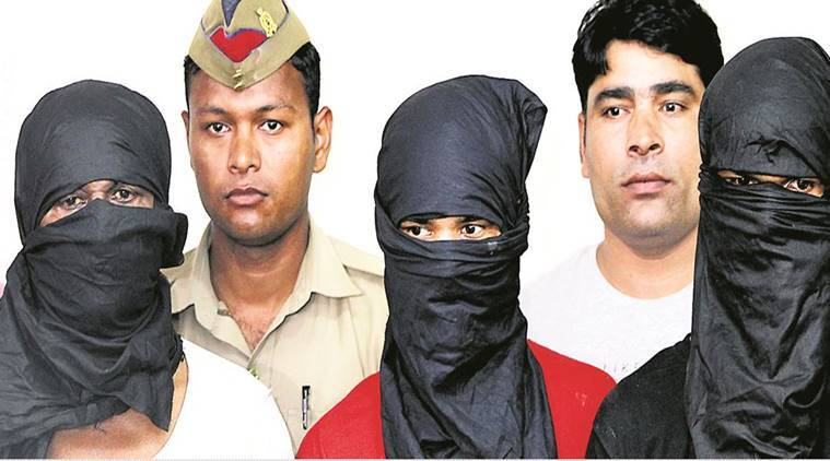 Jewar Gangrape and murder case, Four arrested in Jewar Gangrape Murder case, Jewar-Bulandshahr highway gangrape, Indian Express News