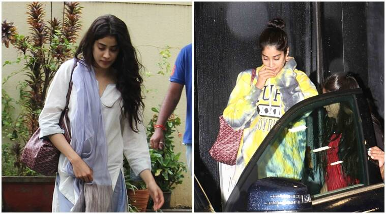 Jhanvi Kapoor taking dance lessons for her Bollywood debut? See photos