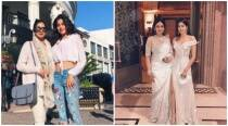 Sridevi is on a shopping spree with daughter Jhanvi Kapoor in Los Angeles