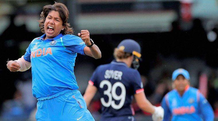 ICC Women's World Cup 2017, Jhulan Goswami, Indian Express