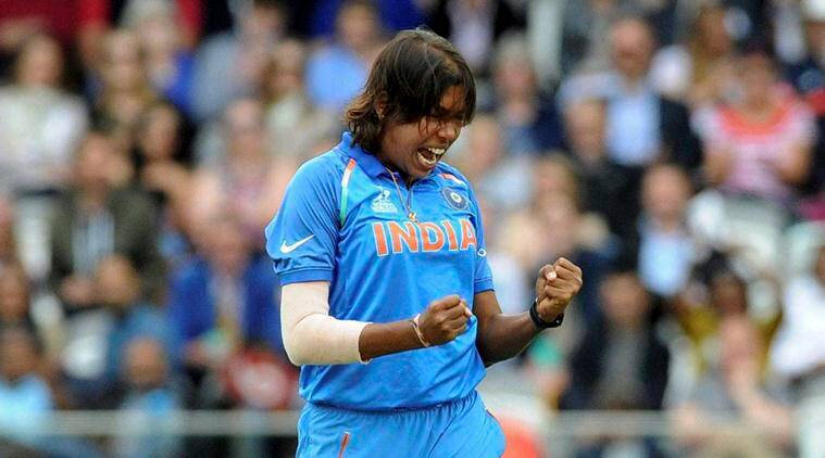 India vs England, ICC Women's World Cup, Jhulan Goswami