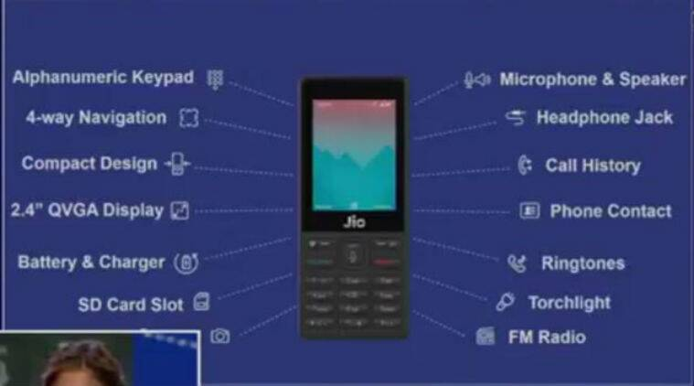 Reliance JioPhone 4G VoLTE Feature Phone Price Specifications