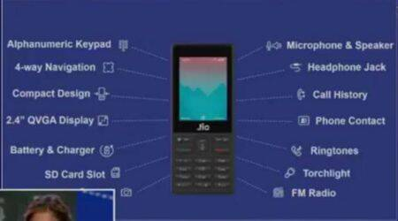 Reliance JioPhone feature phone: Price, specifications, availability and tariff