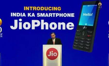 RelianceJio JioPhone India Ka Smartphone Launched