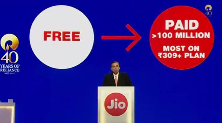 Reliance Jio plans to provide free WiFI to 38000 colleges