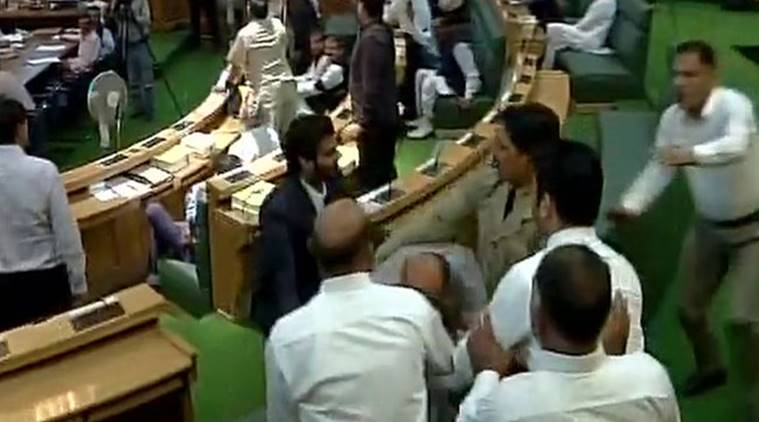 Ruckus in J&K assembly over GST
