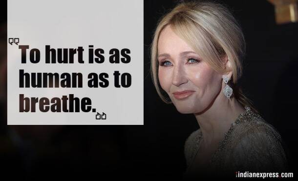 harry potter, jk rowling, jk rowling quotes, jk rowling on life, indian express, indian express news