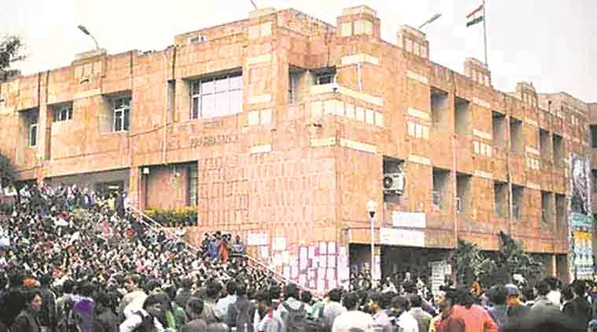 JNU students, JNU mess dues, JNU hotel dues, Education news, Indian Express