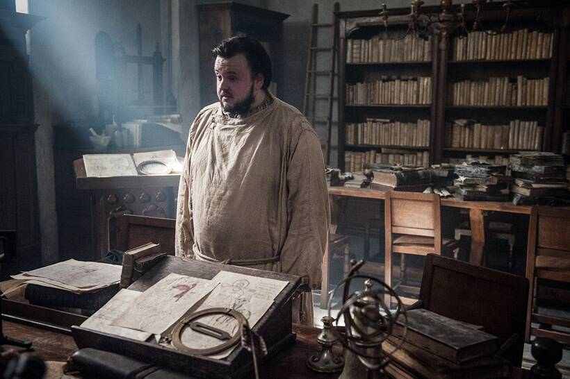 Image result for game of thrones season 7 episode 3 samwell tarly