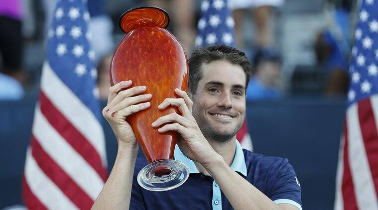 Isner edges Harrison in all-American Atlanta final