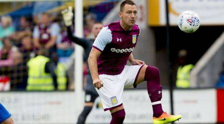 Former England captain John Terry leaves Aston Villa