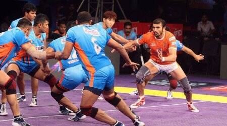 Telugu Titans begin Pro Kabaddi season 5 win 32 - 27 win over Tamil Thalaivas
