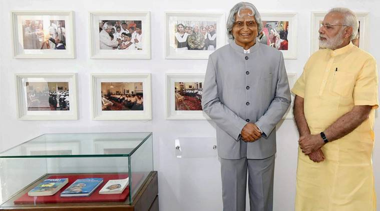 With relative placing Bible, Quran near Abdul Kalam statue, Gita row snowballs