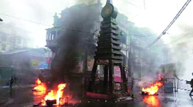Darjeeling unrest, darjeeling violence, Kalimpong slash, Trinamool Congress, Darjeeling TMC chief quits, N B Khawas, Gorkhaland movement