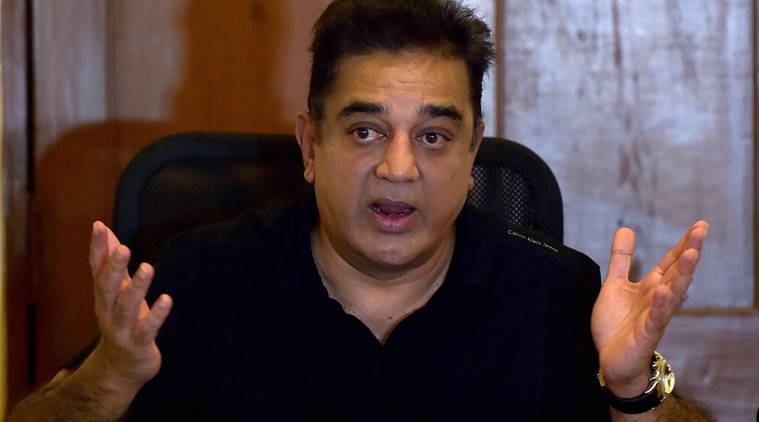 Kamal Hassan, AIADMK merger, tamil nadu merger, K Palaniswami, O Panneerselvam, kamal hassan aiadmk, indian express news, india news