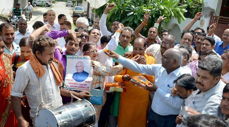 Ram Nath Kovind, Ram Nath Kovind victory, Kovind wins presidential elections, indian president